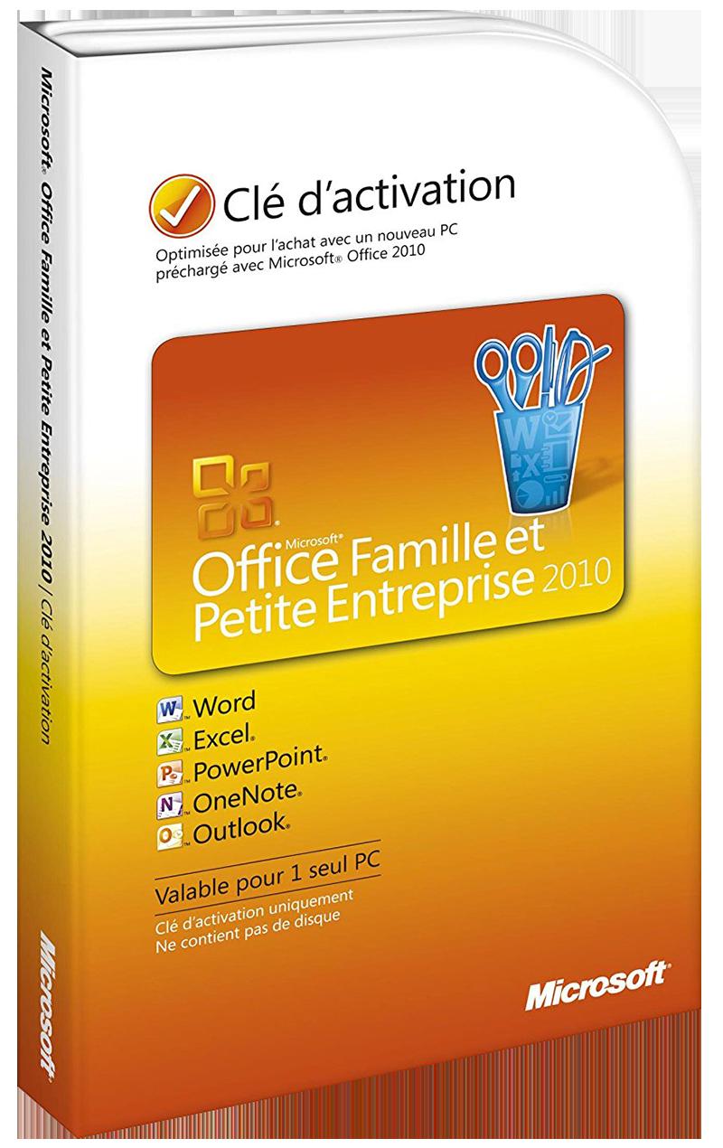 Office 2010 Famille et Petite Entreprise 1 poste