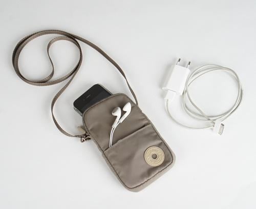 Pochette Tintamar taupe pour Smartphone
