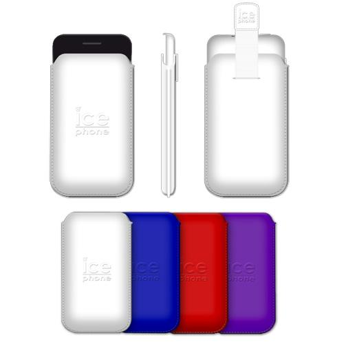 Pouch Ice Phone rouge
