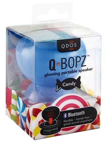 Mini enceinte Qdos Candy bleue