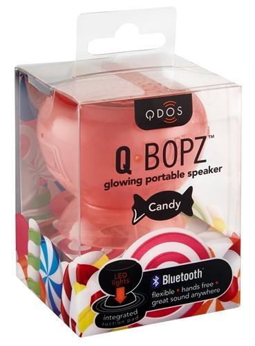 Mini enceinte Qdos Candy rouge