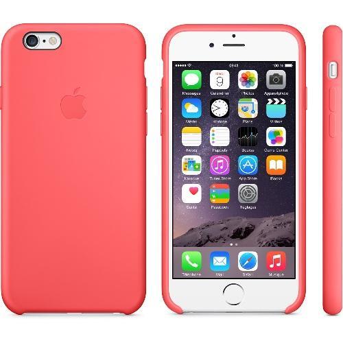 Coque silicone Iphone 6 rose