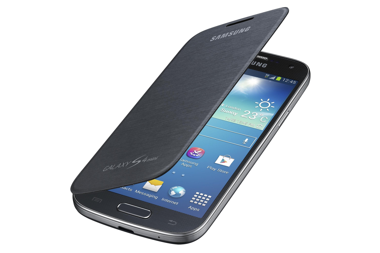 Etui folio noir Galaxy S4 mini