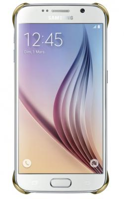 Coque Transparente Samsung Galaxy S6 Gold