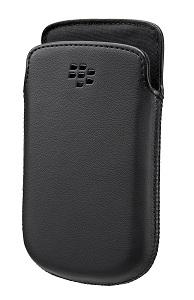 Etui pocket noir pour Blackberry 9720
