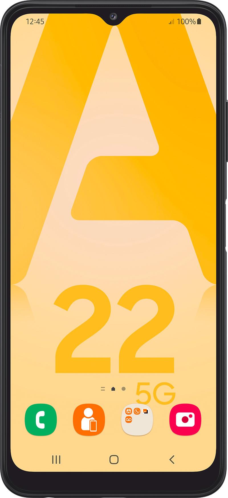 Samsung Galaxy A22 5G gris 128Go