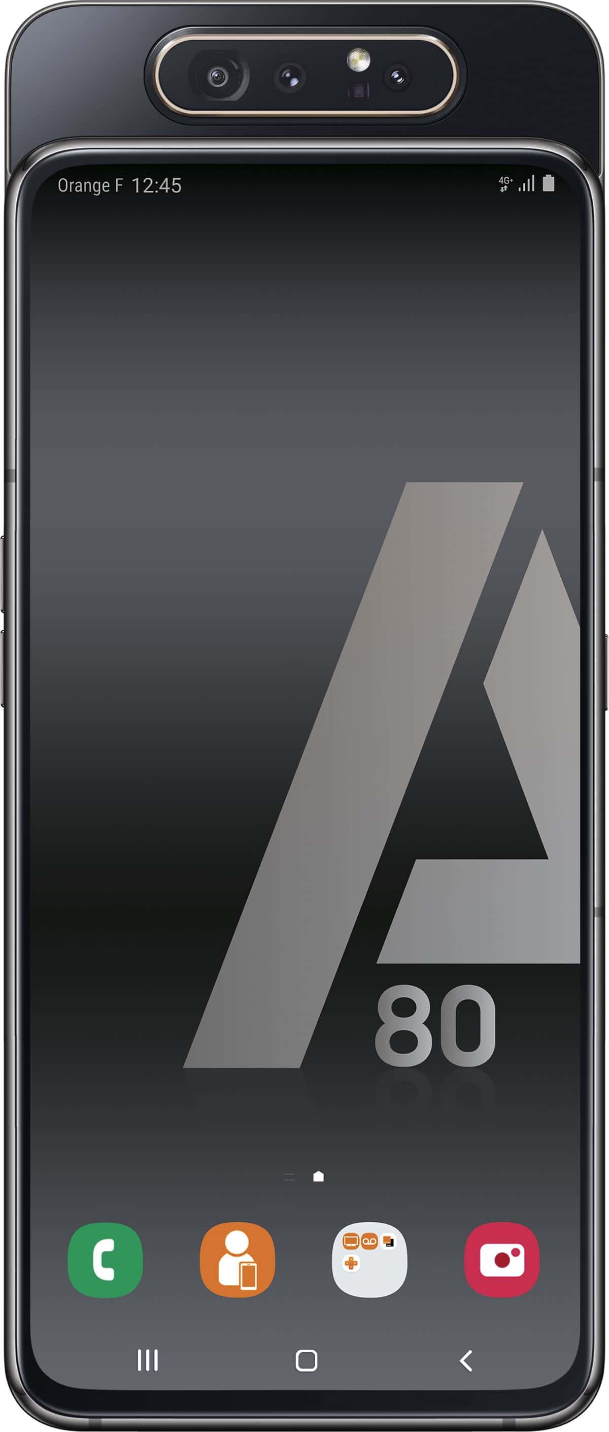 Samsung Galaxy A80 Dual Sim noir 128Go