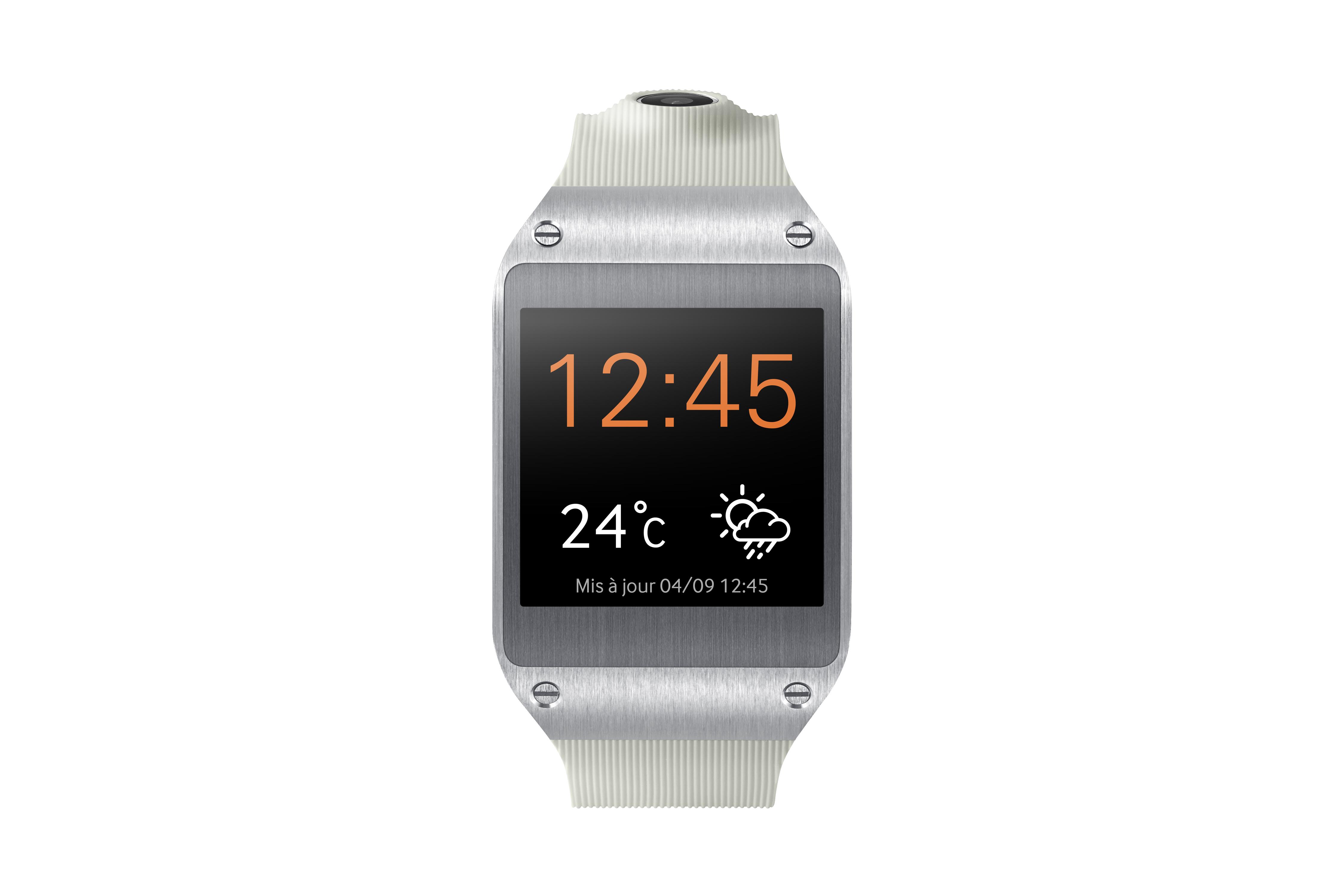 Montre Samsung Galaxy Gear blanche