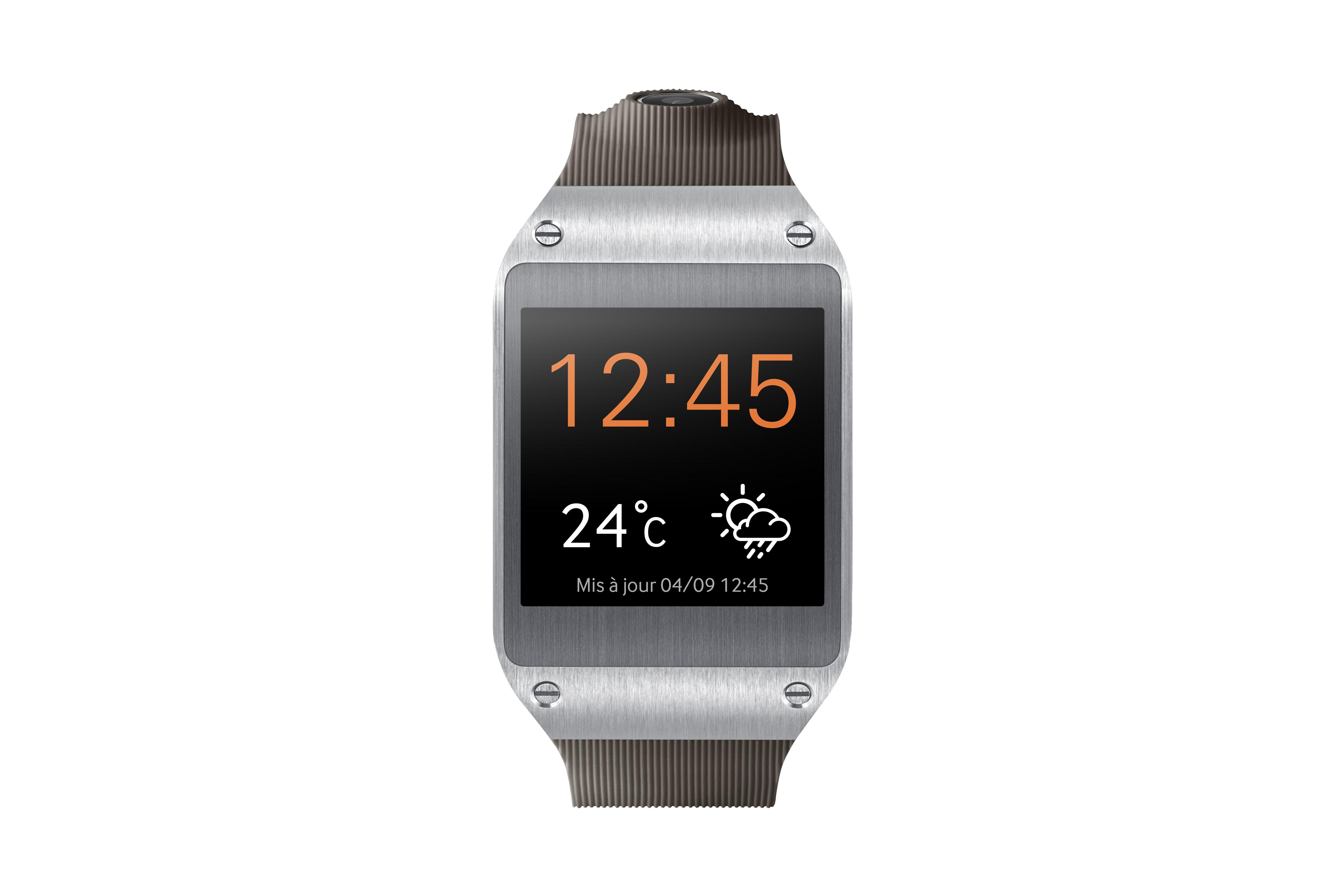 Montre Samsung Galaxy Gear grise