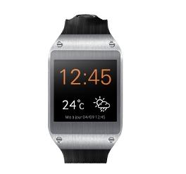 Montre Samsung Galaxy Gear noire