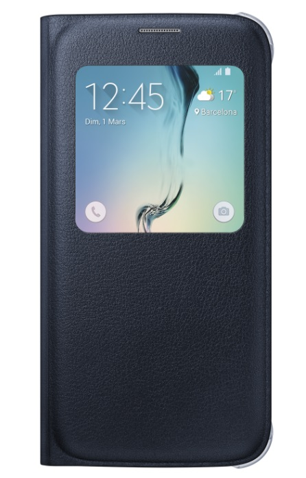 Etui S View Cover Galaxy S6 noir