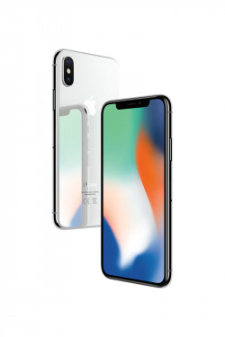 Apple iPhone X Argent 64Go