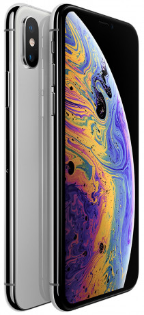 Apple iPhone Xs argent 64Go