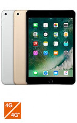 Apple iPad mini 4 WiFi+Cel Gris 128Go