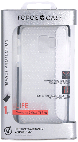 Coque Force Case life Galaxy S9 Plus transparente