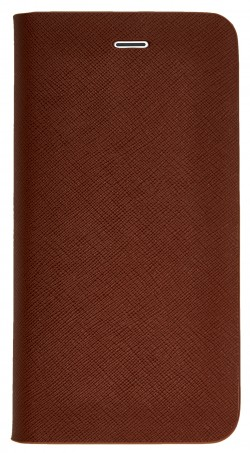 Etui folio Qdos en cuir marron pour iPhone 6 Plus