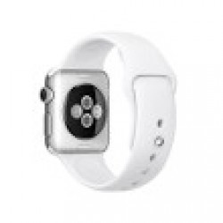 Apple Watch Sport 38 mm Aluminium bracelet Sport Blanc