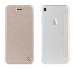 Coque étui à rabat Or Muvit Smartphone iPhone 7