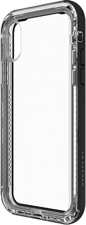 Coque Lifeproof iPhone X NEXT Crystal noir