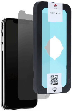 Film Force Glass EVO privacy iPhone Xs Max transparente