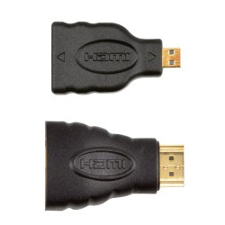 Lot de 2 Adaptateurs Mini, Micro HDMI