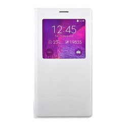 Etui clear cover Blanc Galaxy note 4