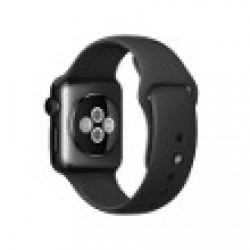 Apple Watch Sport 38 mm Aluminium bracelet Sport Noir