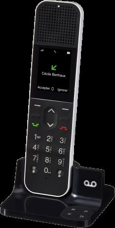 b9233d17bf988 Téléphone fixe HD Allure Solo - Orange pro