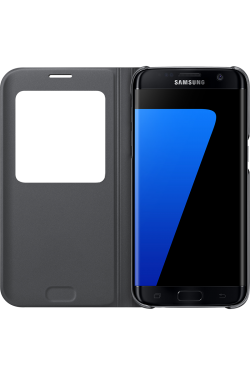 Etui S View Galaxy S7 Edge noir