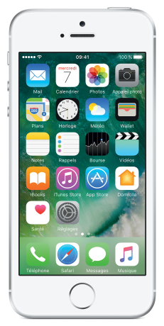 Apple iPhone SE Argent 64Go