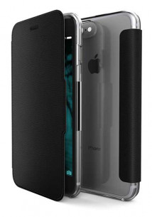 Etui folio Muvit iPhone 8/7/6s noir