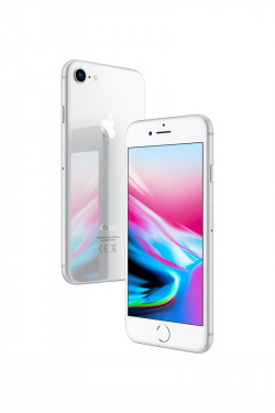 Apple iPhone 8 Argent 64Go