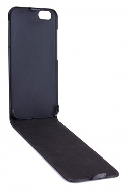 Etui flap noir Iphone 6