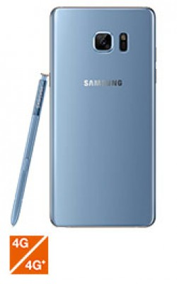 Samsung Galaxy Note7 bleu