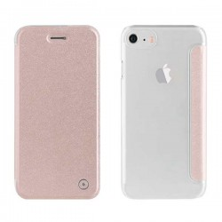 Coque/Etui à rabat Rose Muvit Smartphone iPhone 7, 8
