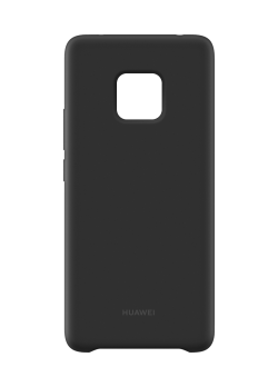 Coque Huawei silicone Mate 20 Pro noir