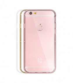 Coque BUMPER 3 EN 1 iPhone 6s Rose