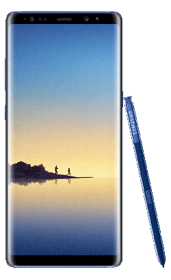 Samsung Galaxy Note 8 bleu 64Go