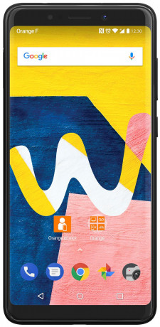 Wiko View Lite gris anthracite 16Go