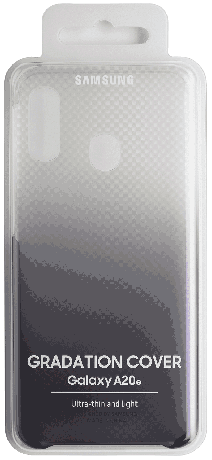 Coque Samsung Gradation Galaxy A20e transparente