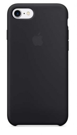 Coque en silicone iPhone 7 Plus noir
