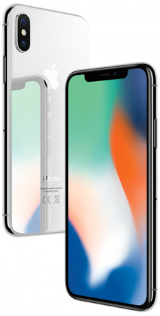 Apple iPhone X Argent 256Go