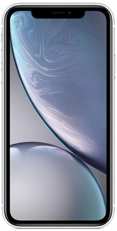 Apple iPhone XR blanc 128Go