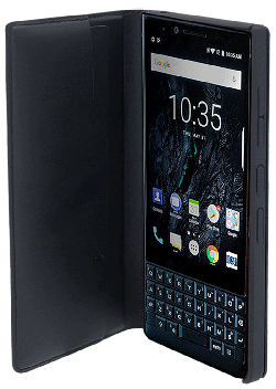 Etui folio Blackberry KEY2 LE noir