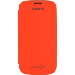 Etui Folio Orange Samsung Galaxy S3 mini