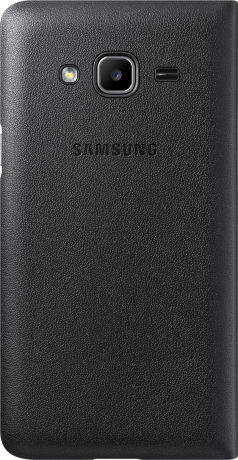 Etui wallet Galaxy J3 noir