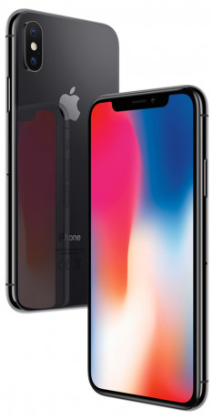 Apple iPhone X Gris sidéral 256Go