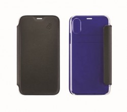 Etui folio Beetle Case iPhone 6 Plus / 7 Plus / 8 Plus noir