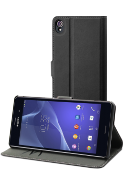 Etui folio Ascendeo Made for Xperia Z3 noir