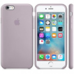 Coque en silicone iPhone 6s - Lavande